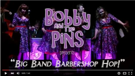 Bobby and the Pins vintage retro