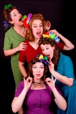 Australian melbourne vintage act 1950s singing group choir acapella roving
