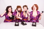 1950s vintage retro singers music girl group function entertainment Bobby and the Pins