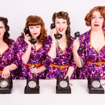 Barbershop 1950s music harmony vintage retro singers melbourne girl group