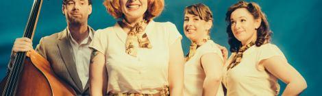Vintage retro singers andrews sisters